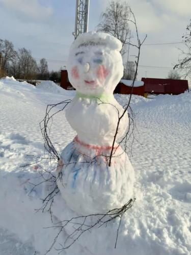 Снежная арт-терапия