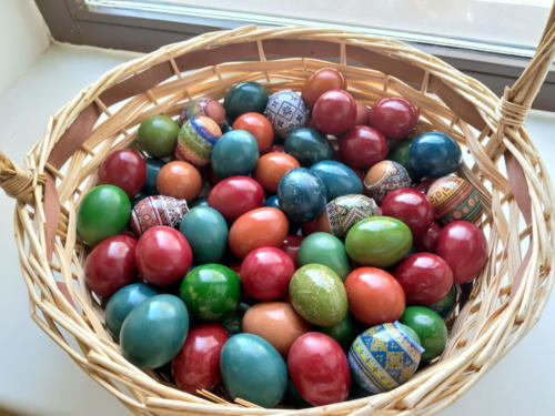 Подготовка к празднику Пасхи