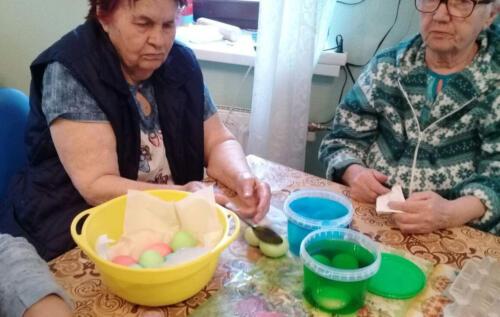 Подготовка к Пасхе